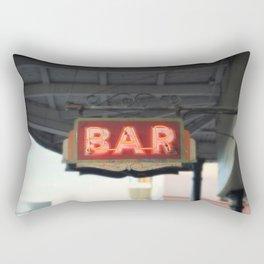 New Orleans Bar Sign Rectangular Pillow