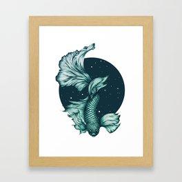 The Splendid Green Waters Framed Art Print