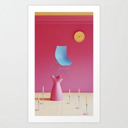 Abstract Interior 01 Art Print