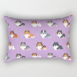 Shelties Rectangular Pillow