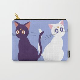 Luna & Artemis - Blue Carry-All Pouch