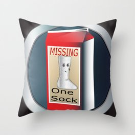 Always Missing Throw Pillow