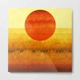 """Sunset between dreams"" Metal Print"