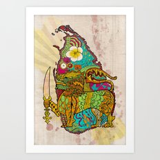 Abstract SL Art Print