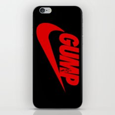 Gump- JustDoIt III iPhone & iPod Skin