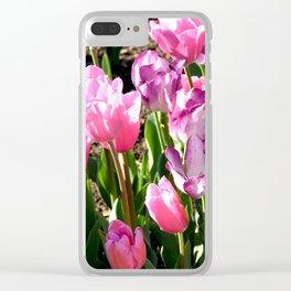 "Muscogee (Creek) Nation - Honor Heights Park Azalea Festival, Tulip ""Gemini II"" Clear iPhone Case"