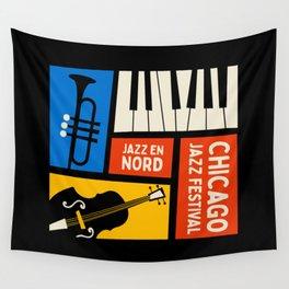 Jazz Festival | Bauhaus V Wall Tapestry