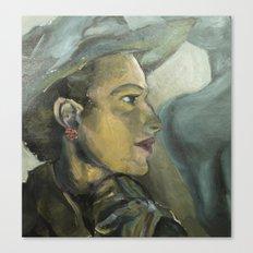 Ladies in Hats 2 Canvas Print