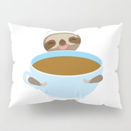 sloth & coffee Pillow Sham