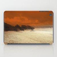 aelwen iPad Cases featuring Sea Foam & Rough Seas by Chris' Landscape Images & Designs