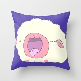 Sleepy Sheepie Throw Pillow