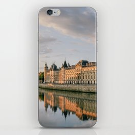 Seine River in Paris at Sunrise iPhone Skin