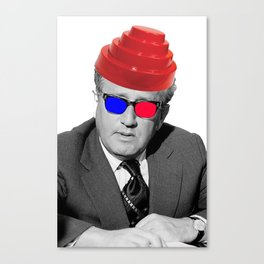 3D Kissinger Devolution Helmet Canvas Print