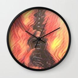 Hot Licks Wall Clock