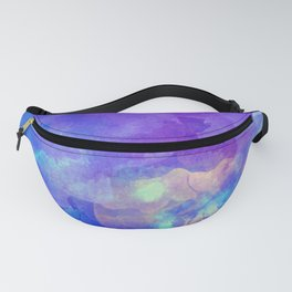 Watercolor abstract art Fanny Pack