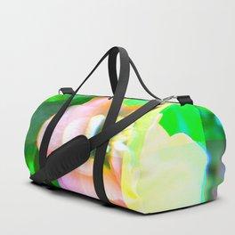 Flower Glitch Duffle Bag