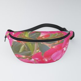 Pink flowers in spring Fanny Pack