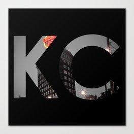 Kansas City - Western Auto KC Print Canvas Print