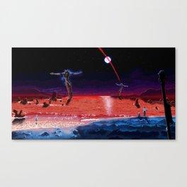 End of Pixelgelion Canvas Print