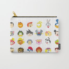 80's Cartoons Carry-All Pouch