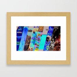 Radio Head Album Tribute Framed Art Print
