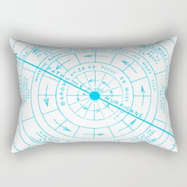 Stormy North Rectangular Pillow