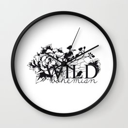 Wild bird Wall Clock