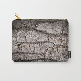 Texture - a bark of old oak with moss Carry-All Pouch