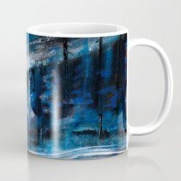 Natt Nordisk Ski winter landscape by Dennis Weber / ShreddyStudio Coffee Mug