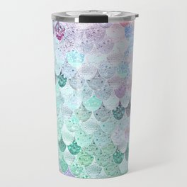 SUMMER MERMAID - CORAL MINT Travel Mug
