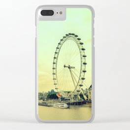 Impressions of London Clear iPhone Case