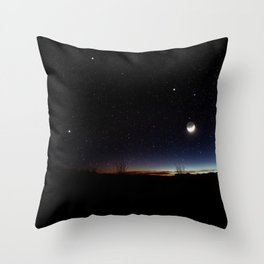 Road trip to Big Bend Throw Pillow