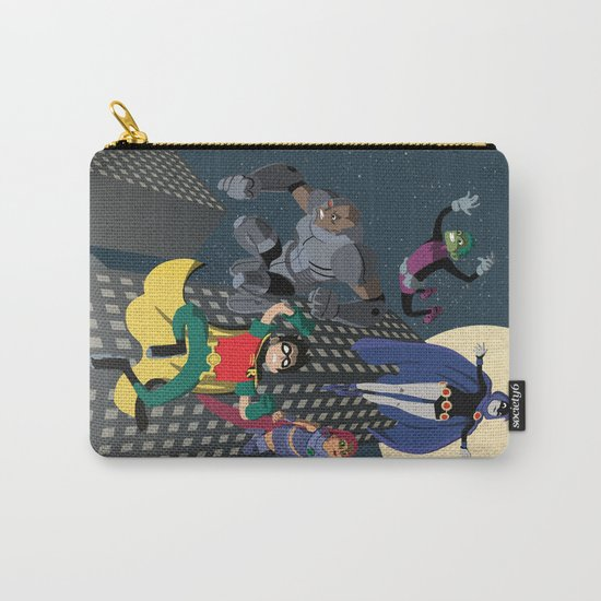 Teen Titans Carry-All Pouch