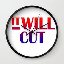IT Will Cut Wall Clock