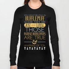 Hufflepuff Long Sleeve T-shirt