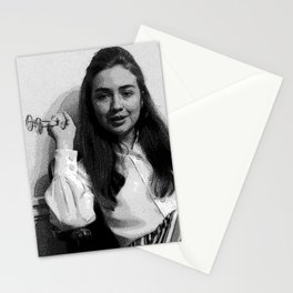 Young Hillary Clinton Stationery Cards