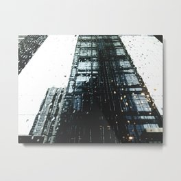 RAINY CITY Metal Print
