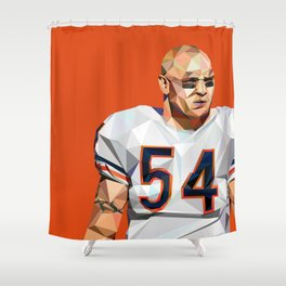 Geometric Urlacher Shower Curtain