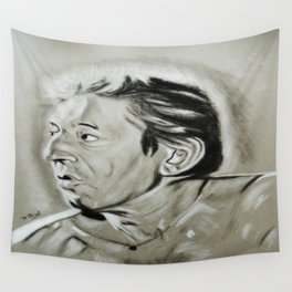 Serge Gainsbourg Wall Tapestry
