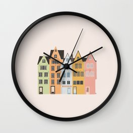 Colorful Cologne Wall Clock