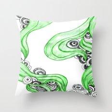 FANTASIA VERDE Throw Pillow