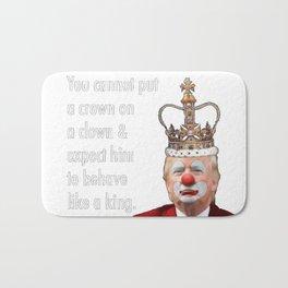 trump the clown Bath Mat