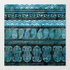 Bodhi Emerald Canvas Print