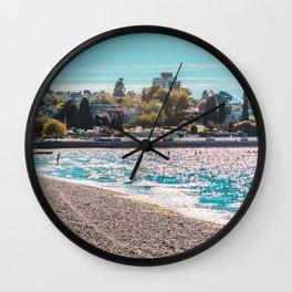 I see an island. Wall Clock