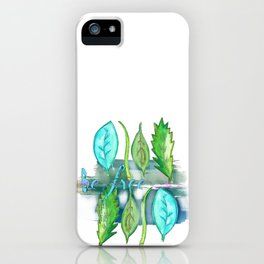 Leaves Be Free iPhone Case