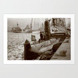 N R P Barracuda Art Print