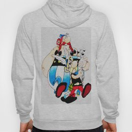 asterix and obelix Hoody