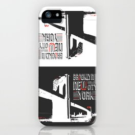 New York Brooklyn Bridge iPhone Case