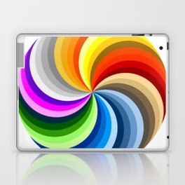 Ubuntu 36 Swirl Laptop & iPad Skin