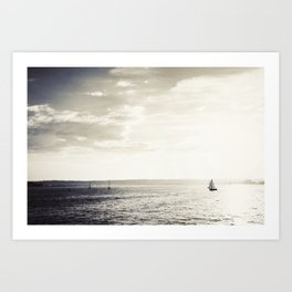 Harbor Island Art Print